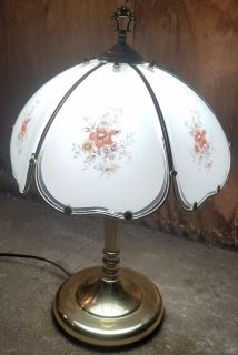 Pair of vintage touch lamps
