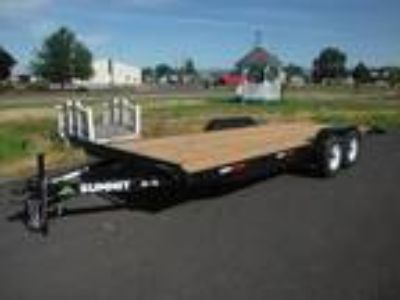 2019 Summit Trailer Cascade 7' X 18' 10K Flatbed