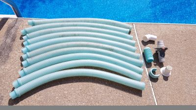 Complete Hose + Adapters for Hayward Zodiac Baracuda Kontiki Automatic Pool Vacuum Cleaner