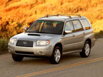 2007 Subaru Forester 2.5 X Premium Package (Crystal Gray Metallic)