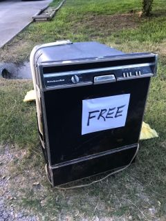 Free dishwasher