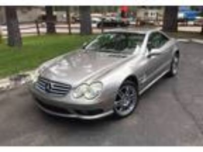 2003 Mercedes-Benz SL Convertible in South Lake Tahoe, CA