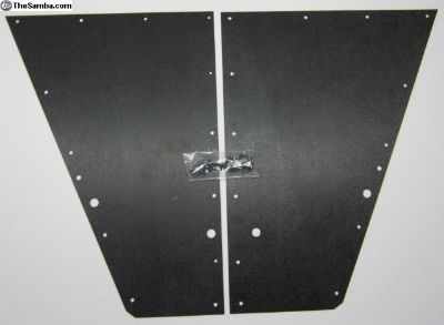 '80-'92 VANAGON Rear Seat 1/4's Blk / GRAY ABS