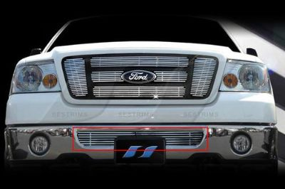 Sell SES Trims TI-CG-103BN 06-08 Ford F-150 Billet Grille Bar Grill Chromed motorcycle in Bowie, Maryland, US, for US $121.00