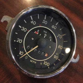 Zero mile speedometer
