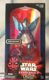 NEW Hasbro Star Wars Episode I WATTO With Datapad