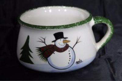 Christmas cup, snowman, hot cocoa, Christmas tree plates