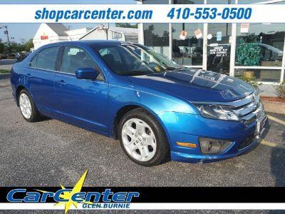 2011 Ford Fusion SE (blue)