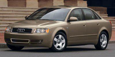 2005 Audi A4 1.8T quattro (Arctic White)