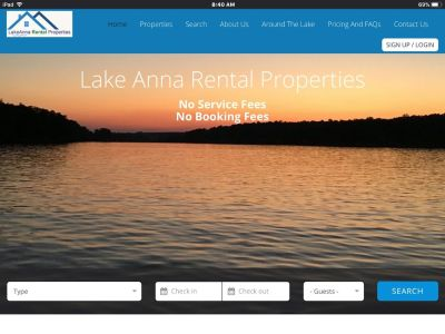 Lake Anna Rental Properties.   Vacation Rental by Owners       no Fees!