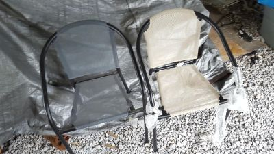 Patio chairs $10 each new
