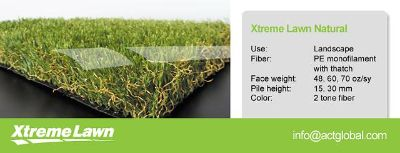 Get an attractive synthetic Turf and grass field at Act Global