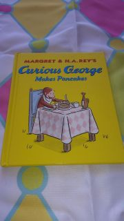 Brand new 8x8 curious george makes pancakes book