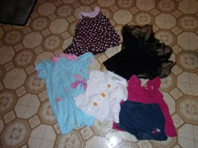 #bb 35 PIECES BABY GIRL CLOTHES 18 MONTHS