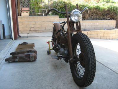 FS: 1929 Harley-Davidson JD Project