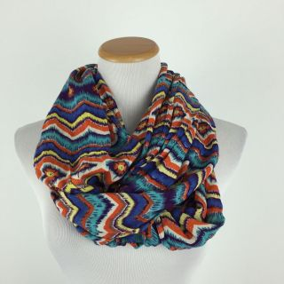 Infinity Scarf colorful print