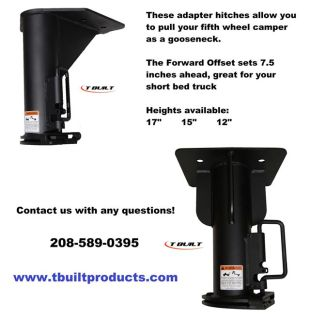 $349, Fifth Wheel Cer to Gooseneck Adapter Hitch