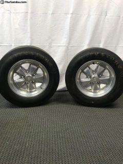 Porsche Alloy S911 Mag Wheels & Tires