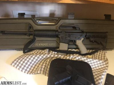 For Sale/Trade: Like New Factory Olympic Arms 16 AR-15 M.F.R. In 5.56