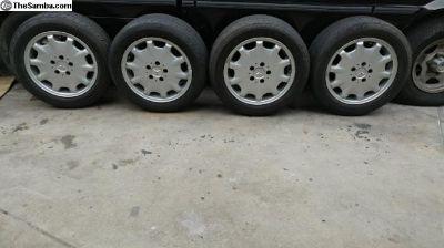 vanagon/mercedes rims tires