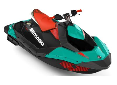 2018 Sea-Doo Spark 2up Trixx iBR 2 Person Watercraft Clinton Township, MI