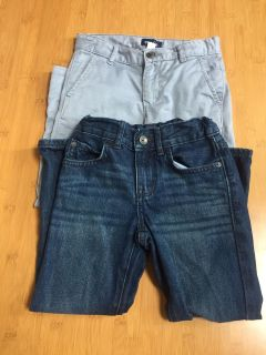 Children's Place Slim Straight Size 5 Chinos Jeans