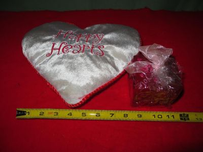 Valentine Pillow and New Candle