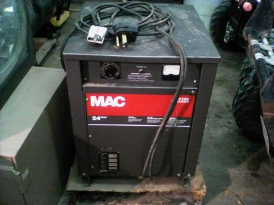 $250, MAC 24 volt battery charger