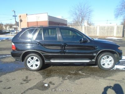 2005 BMW X5 4.4i 5-Speed Automatic