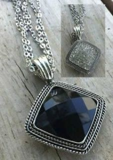 REVERSIBLE NECKLACE - BRAND NEW - GIVES YOU 2 LOOKS