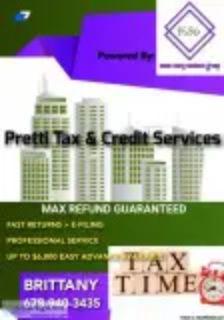 Tax Prep and Credit Repair NOW