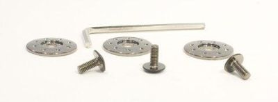 Sell ZOX PLASTIC CHROME SCREW KIT ROOST 86-96140 motorcycle in Ellington, Connecticut, US, for US $2.95