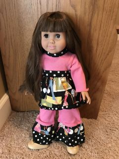 NEW Condition 18 Doll w/custom made outfit