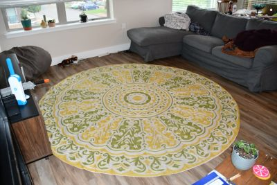 Beautiful Woven Anthropologie Rug