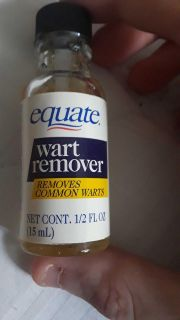 equate wart remover