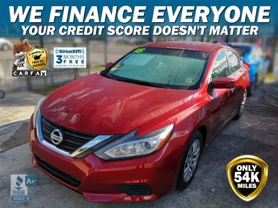 2016 Nissan Altima S (Red)