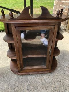 Old Curio cabinets
