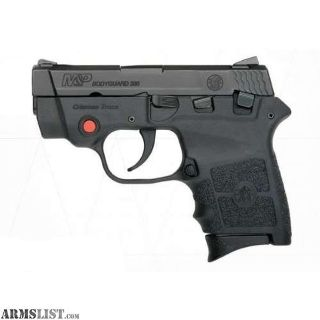 For Sale: SMITH AND WESSON BODYGUARD 380 380 ACP W/CT