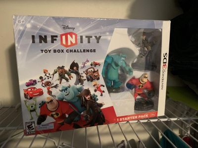Infinity to Xbox challenge starter pack for 3ds