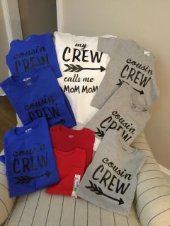Cousin crew and Mom Mom shirt