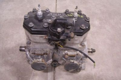 Purchase ARCTIC CAT SNOWMOBILE 1999 ZR 600 EFI SHORT BLOCK ENGINE 0662-247 motorcycle in Kaukauna, Wisconsin, United States, for US $1,200.00