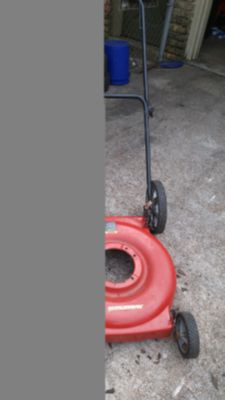 "22"" Murray big wheel lawn mower deck"