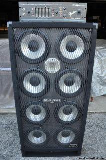 Behringer Ultrabass BA810 Fender BXR Dual Bass 400 Amplifier