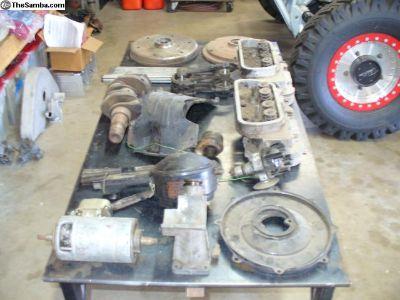 40 HP motor parts
