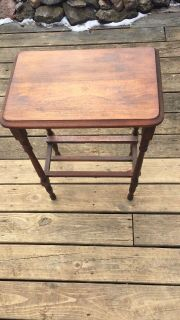 Antique side or butler's table