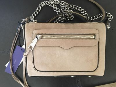 NEW authentic Rebecca Minkoff leather crossbody