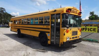 1999 Bluebird Flat Nose School Bus with Lift- ONLY $9,500!!