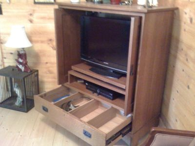 Stickley TV cabinet