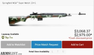 For Sale/Trade: SS Super match M1A