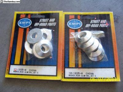 EMPI Aluminum Wheel Washers $ 12. plus s&h